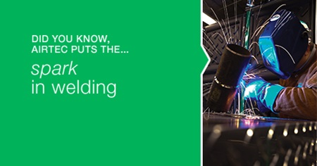 Did you know, Airtec puts the ... spark in welding